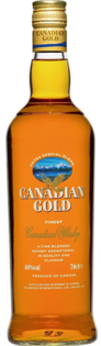 Canadian Gold Canadian Whisky 750ml - Case of 12